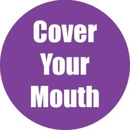 Flipside products cover your mouth purple anti-slip
