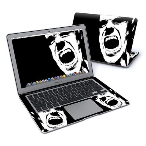 DecalGirl MBA13-SCREAM Apple MacBook Air 13 in. Skin - Scream