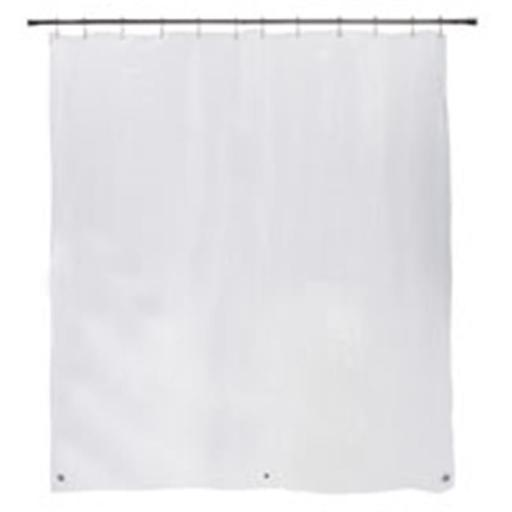 Kenney Manufacturing 1007772 Medium Weight Peva Shower Curtain Liner, Clear