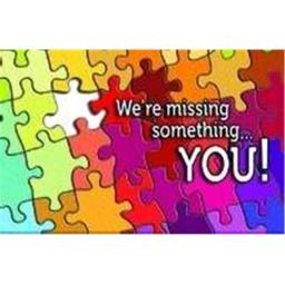 Warner Press 301032 Post Card - Missed You-Were Missing Something And Puzzle