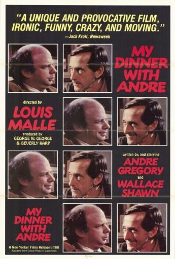 My Dinner with Andre Movie Poster Print (27 x 40) 3WK1Q5RIKSJN7NZN