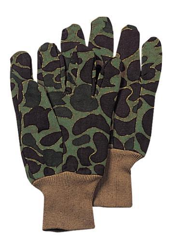 Rothco 4414 Sportsman Camouflage Cotton Jersey Work Gloves