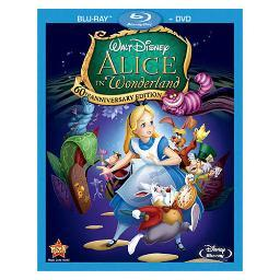 Alice in wonderland-60th anniversary edition (blu-ray/dvd/combo) BR105888