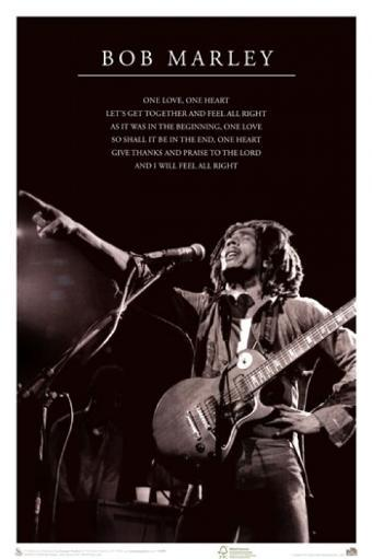 Bob Marley - One Love Poster Poster Print XHB8ZUTKWJYJOMBA