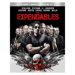 Expendables blu ray/dvd combo w/digital copy BR29196