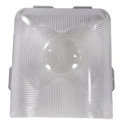 Arcon 11587 Fleetwood Style Euro Light Replacement Lens 11587