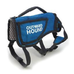 Outward Hound Oh3070 Blue Outward Hound Dog Thermovest Large Blue
