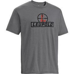 Leupold 170533 leupold t-shirt reticle s-sleeve heather gray xx-large
