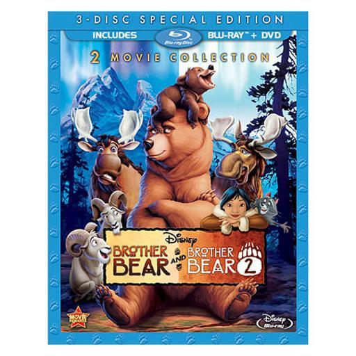 Brother bear/brother bear 2 (blu-ray/dvd/3 disc) 1289964