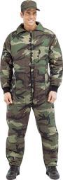 Men's Camouflage Insulated Coveralls thumbnail