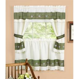 achim-becs24gn12-berkshire-embellished-cottage-set-58-in-x-24-in-tailored-tier-pair-58-in-x-36-in-tailored-topper-with-attached-swaggers-and-tie-6ed81ccdd0689c60