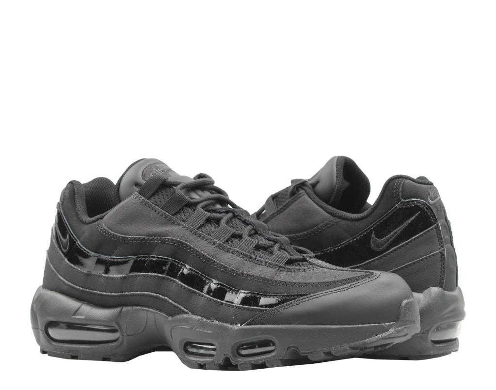196e4f2aa9 Nike Air Max 95 WE Triple Black/Black-Anthracite Men's Running Shoes AT0042-