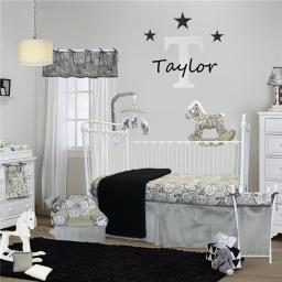 Cotton Tale Designs TA7S Taylor Crib Bedding Set - 7 Piece