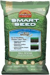 Pennington 100086830 Smart Seed Tall Fescue Grass Seed, 3 Lbs