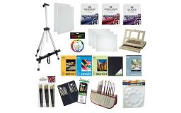 Art-914167 art advantage deluxe value pack with field easel