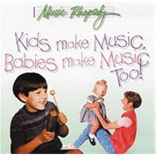 Alfred 00-BMR07002CD Kids Make Music Series- Kids Make Music- Babies Make Music- Too - Music Book
