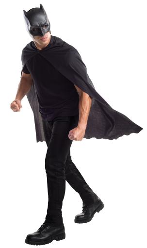 Dawn Of Justice Batman Adult Cape With Mask