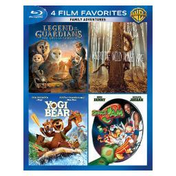 4 film favorites-family adventures (blu-ray/4 disc) BR407612