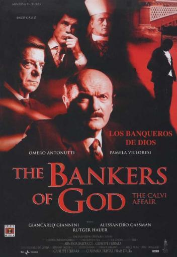 The Bankers of God The Calvi Affair Movie Poster (11 x 17) R9EFFMN9OUC0USVP