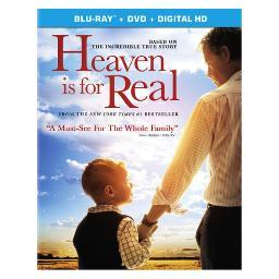 Heaven is for real (blu-ray/dvd combo/ultraviolet/ws 2.40/2 disc/dd5.1/eng) BR43919