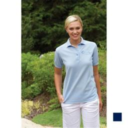 24-7 Lifestyle TS00351NY00007 Ladies Performance Blend Polo 351 NAVY 3XL