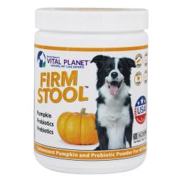 Vital Planet - Firm Stool Powder For Dogs Pumpkin - 3.92 oz.