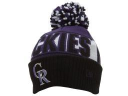 New Era Colorado Rockies Pom Pom  Mens Style : Ne-pom