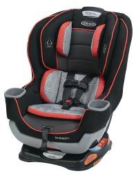 Graco extend2fit convertible car seat, solar 1991894