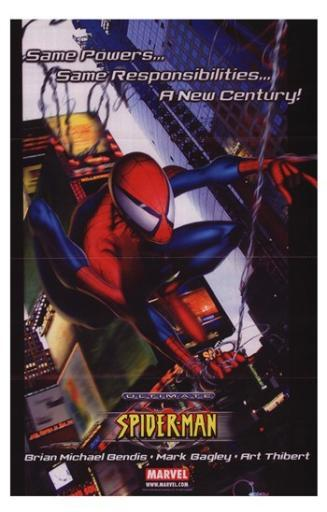 Ultimate Spiderman Movie Poster (11 x 17) 705117