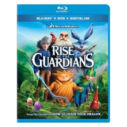 Rise of the guardians (blu-ray/dvd/dc/uv/2 disc combo) BR101128