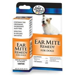 Four Paws - Ear Mite Remedy Dogs .75 Ounce - 100202111-01730