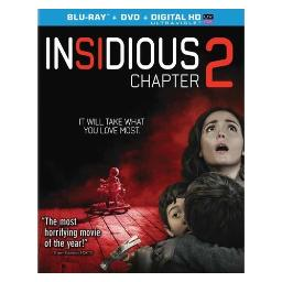 Insidious-chapter 2 (blu-ray/dvd combo/ultraviolet/ws 1.85/dol dig 5.1/eng) BR42437