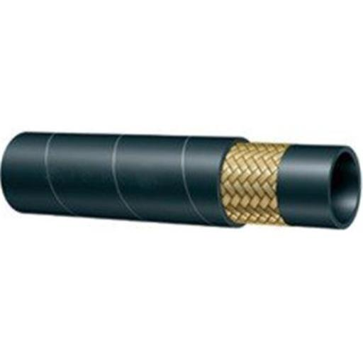 Hydrauli-Flex JR1-06-25 0.375 in. SAE 100-R1 SN 25 ft. 1-Wire Hydraulic Hose