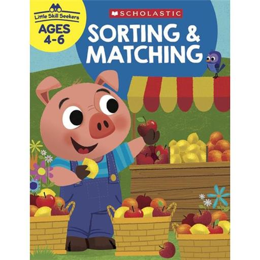Scholastic Teaching Resources SC-825557 Sorting & Matching Little Skill Seekers 0FX2JKFHD1BZEKIA