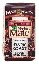 Mate Factor - Organic Yerba Mate Loose Herb Tea Dark Roast - 12 oz.