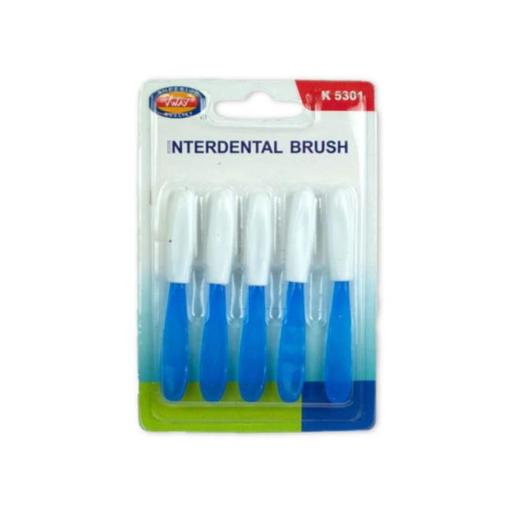 Kole Imports ML232-48 Interdental Brush with Cap, 48 Piece