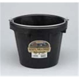 Miller Rubber Light Duty Pail Black 8 Quart - DF8