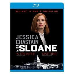 Miss sloane (blu-ray/dvd/digital hd) BR2327723