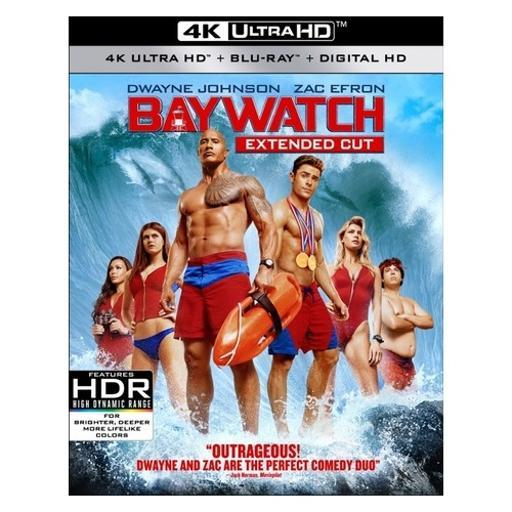 Baywatch (2017) (blu ray/4kuhd/ultraviolet hd/digital hd) QZLJM1FJEWAGBAO8