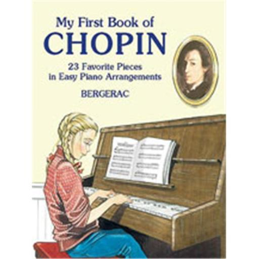 Alfred 06-424278 My First Book of Chopin - Music Book