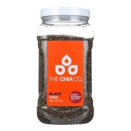 The Chia Company Chia Seed - Black - Tub - 35.3 oz