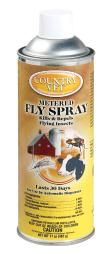 Country Vet Metered Fly Spray Liquid Insect Killer 17 oz. - Case Of: 1;