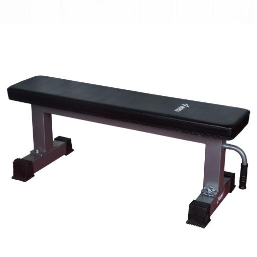 AKONZA Flat Bench Weight 1,000 lb Exercises Bench Training w/ Handle & Wheels