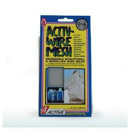 Activa products, inc. 166 activ-wire aluminum small 1/8 x 1/6 mesh 12x24