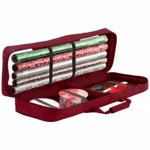 Seasons Collection Gift Wrapping Supplies Organizer and Storage Duffel