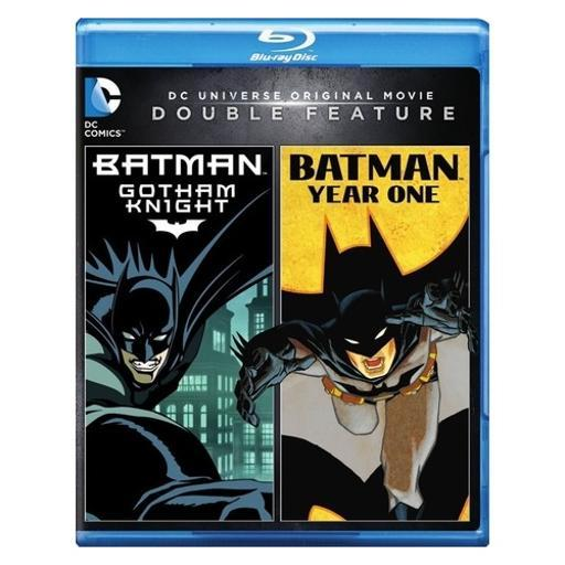 Batman-gotham knight/dcu-batman-year one (blu-ray/dbfe/2 disc) SX6WJFVVPMJB9RKN