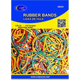 DDI 1821063 Assorted Color Rubber Bands Case of 72