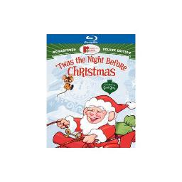TWAS THE NIGHT BEFORE CHRISTMAS (BLU-RAY/DELUXE EDITION/2 DISC) 883929137466