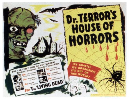 Dr. Terror'S House Of Horrors Title Card 1943 Movie Poster Masterprint 3FJ2ZVSNXLUTHYMG