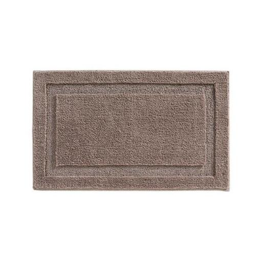 Interdesign 17069 34 x 21 in. Taupe Bath Spa Rug - pack of 4